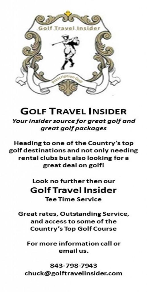 Golf Travel insider coast to coast ad